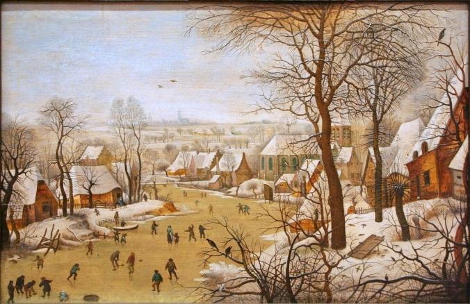 Pieter_Brueghel_de_Jonge_-_Winterlandschap_met_vogelval