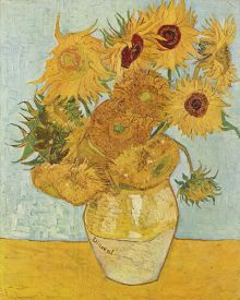 Van Gogh-Vaas met de vijftien zonnebloemen