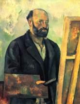 Cézanne, 'Zelfportret met palet' (1890)
