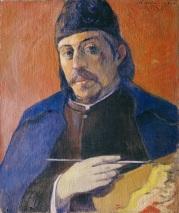 Gauguin, 'Zelfportret met palet' (1893)