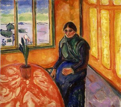 Munch, 'Melancholische Laura' (1899)
