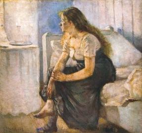 Edvard Munch, 'Ochtend' (1884)