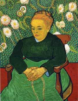 Van Gogh, 'Madame Roulin' (1889)
