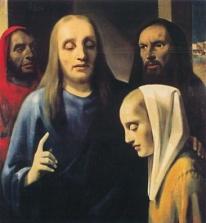 vMeegren -Christus en de overspelige vrouw