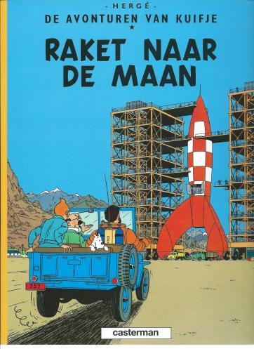H2 De lucht in!: Hergé heeft slim gebruik gemaakt van warm-koudcontrast om de raket op te laten vallen. En hoe heeft hij het voor elkaar gekregen om de wagen te laten 'rijden'?