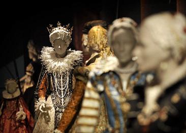 Fragment uit de tentoonstelling 'Medici, een vorstelijke wereld van papier' (2014, Breda's Museum).