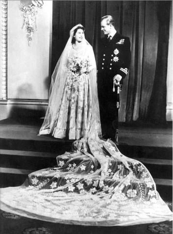 Huwelijk Prinses Elisabeth & Prins Philip (1947)