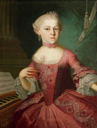 Maria Anna op 12-jarige leeftijd (1763, maker onbekend).