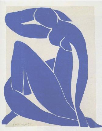 A. Henri Matisse, 'Nu bleu' (1909-1910).