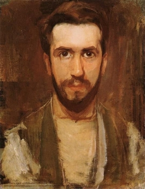 Piet Mondriaan, 'Zelfportret' (ca. 1900).