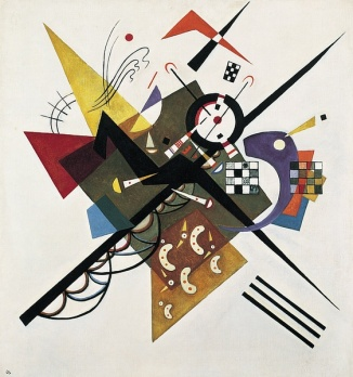 B. Vassili Kandinsky, 'On White II' (1923).