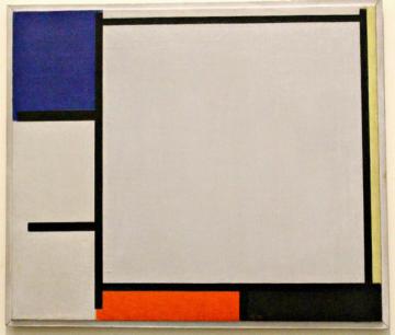 Mondriaan, 'Compositie' (1922).