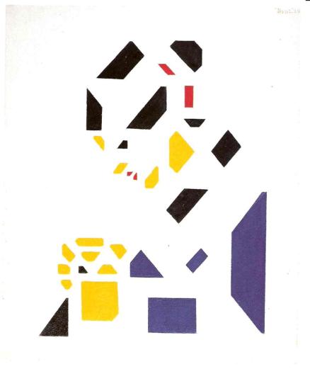 Van der Leck, 'Jenny' (1920).