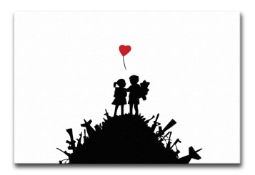 Banksy-Kids-on-Gun-Hill-print