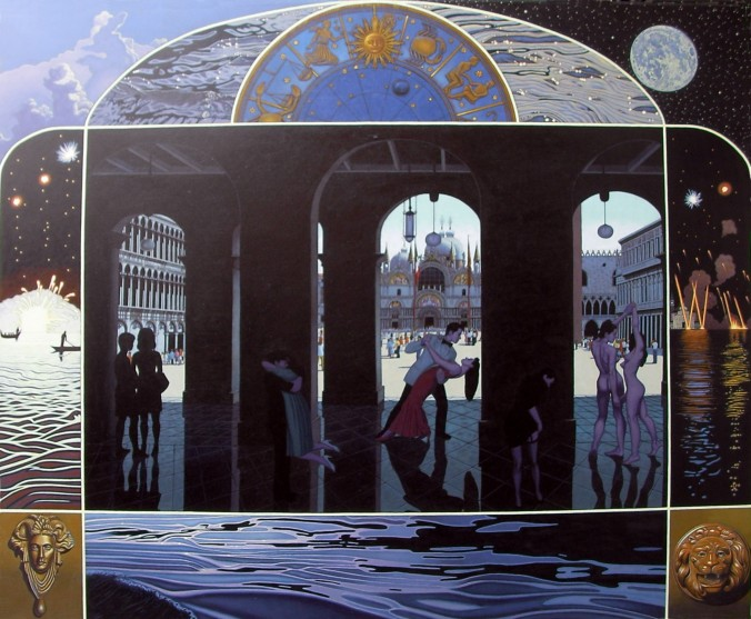 2016-Last Tango in Venice-Oil-100cmx120cm