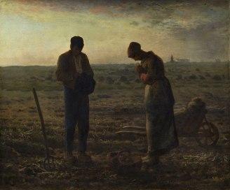 Millet, 'Het angelus' (ca. 1859)