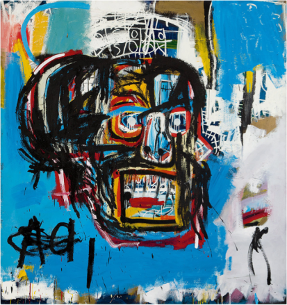 B77 Basquiat-Untitled