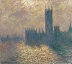 Monet, 'Londen, Parlementsgebouwen' (1904)