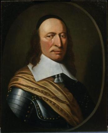 Pieter Stuyvesant, schilder onbekend. Omstreeks 1660.