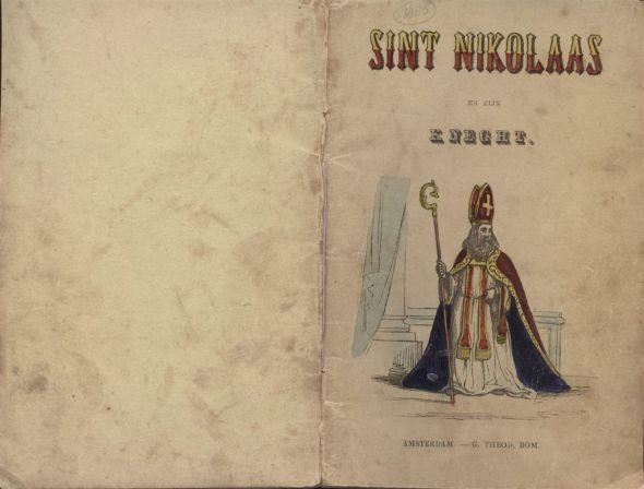 B80 5 Cover Jan Schenkman-Sint Nikolaas en zijn knecht 1850