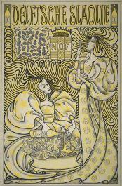 Jan Toroop, Affiche Delftsche Slaolie (1894).jpg