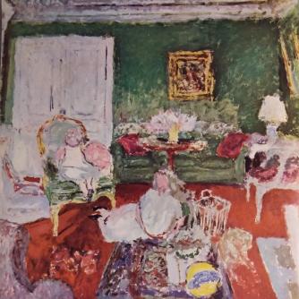 E. Vuillard, Schets voor Mme Jean Trarieux en haar dochters (1912)